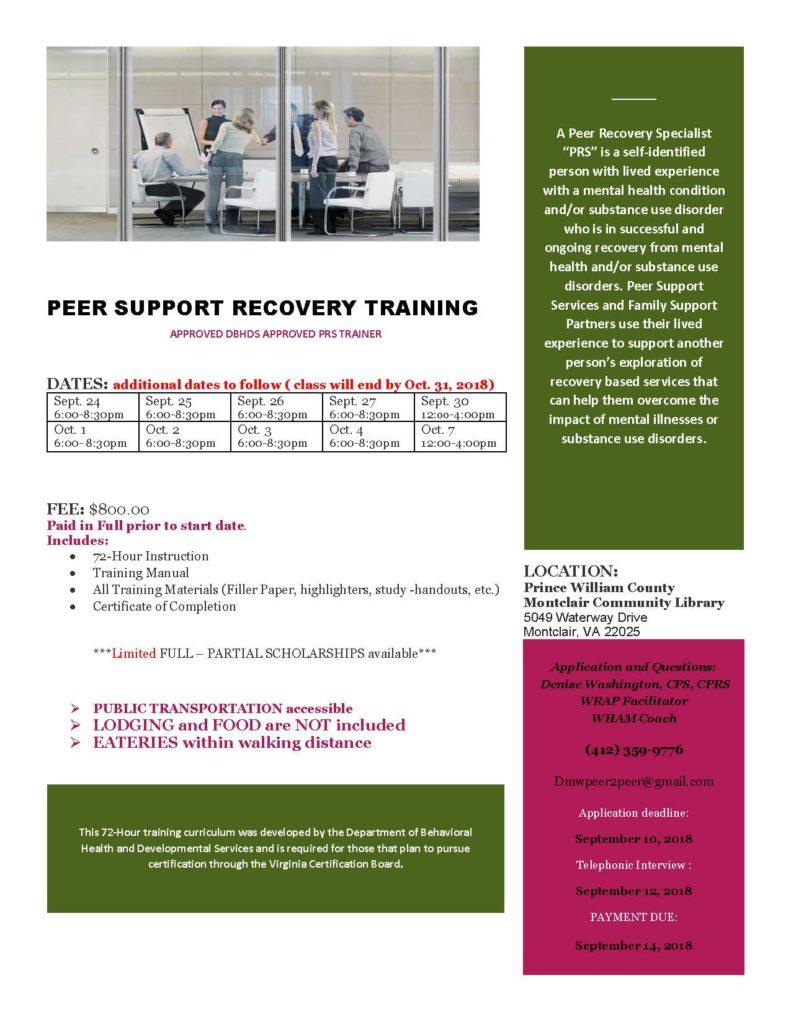 PRS Training Montclair