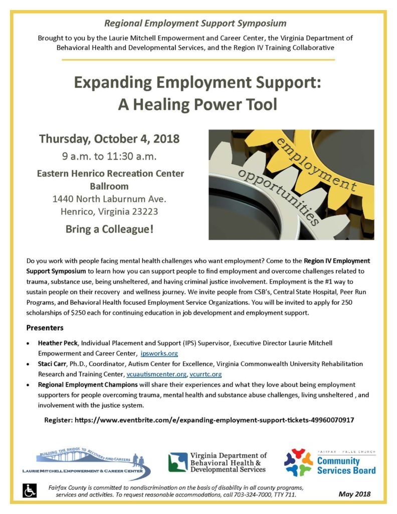 Expanding Employment Support Henrico