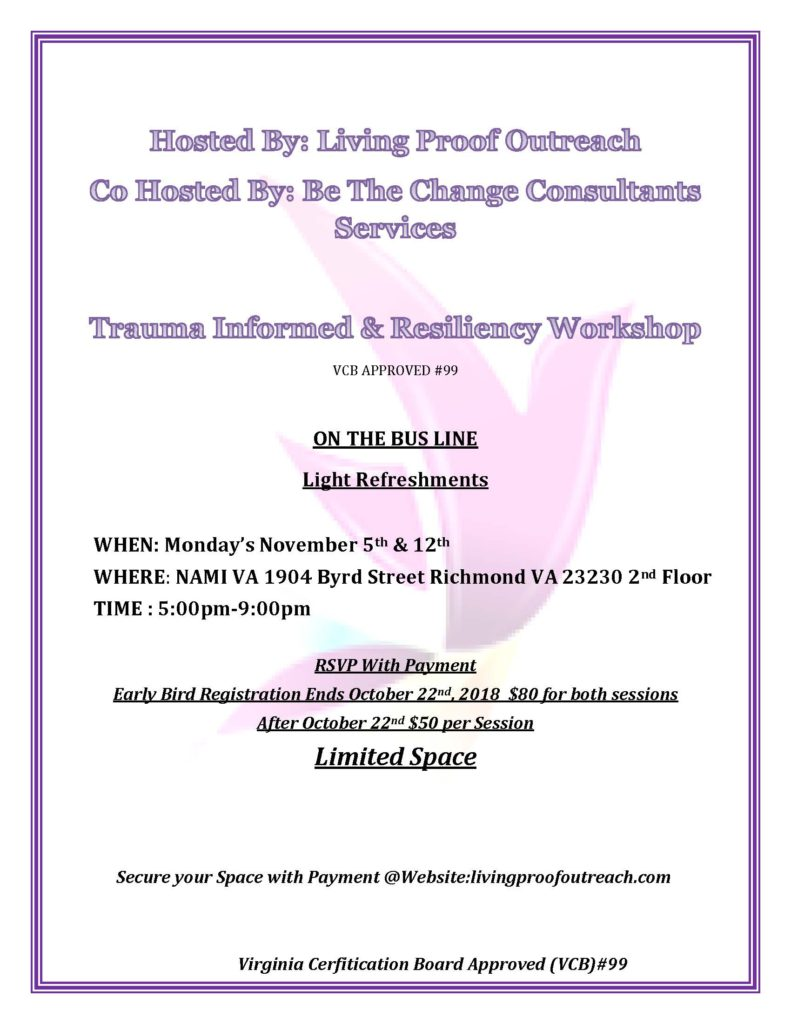 LPO Trauma-Informed and Resiliency Workshop